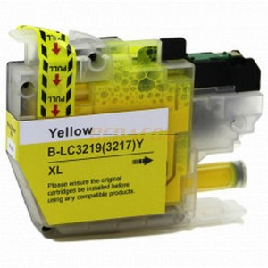 cartucho compatible Brother LC3219XL Amarillo