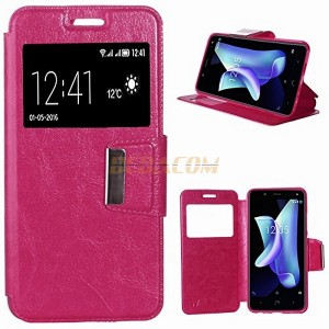 Funda libro flip cover para Xiaomi Redmi Note 4 / 4X color rosa